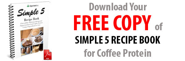Simple 5 Recipe Book for Coffee Protein Powder