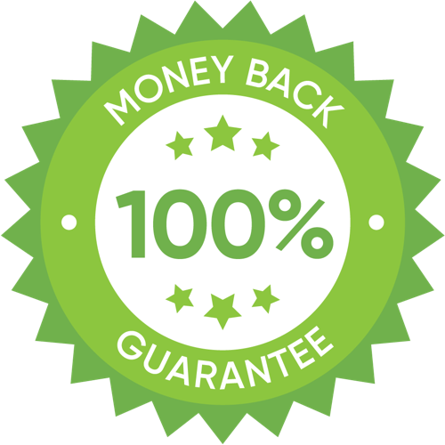 100% money back guarantee at Opportuniteas