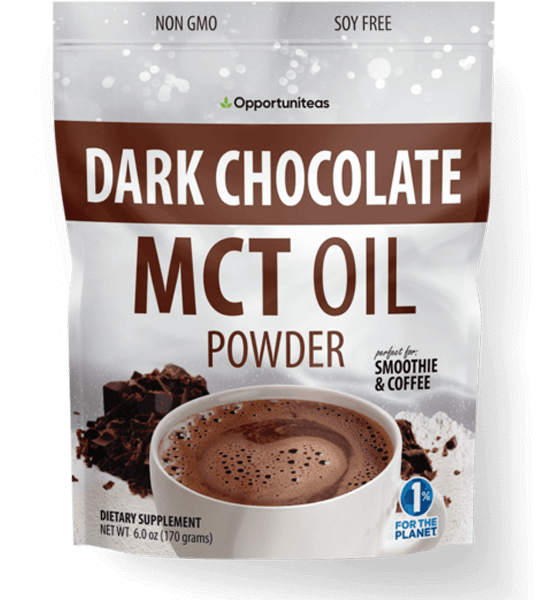 Dark Chocolate MCT Oil Powder