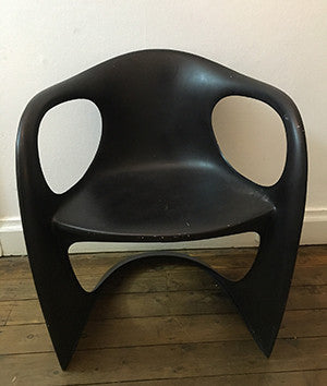 Armchair - black