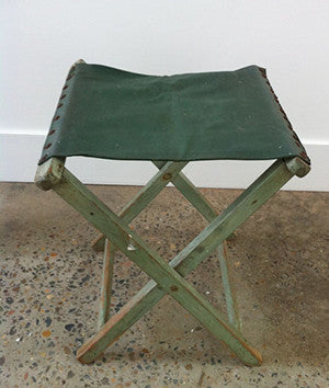 Camp stool (green)