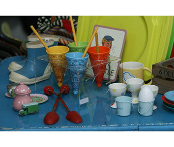 Ice cream scoops & egg cups