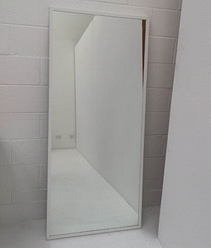 Long White Mirror