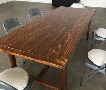 Large Wooden Table