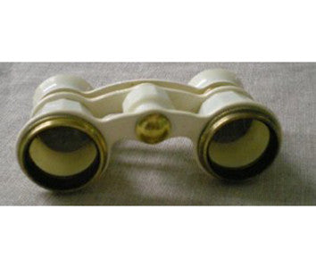 White Opera Glasses