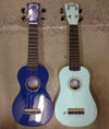 Ukeleles Blue (Also in White and Brown)