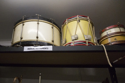 Drums and Tamborines