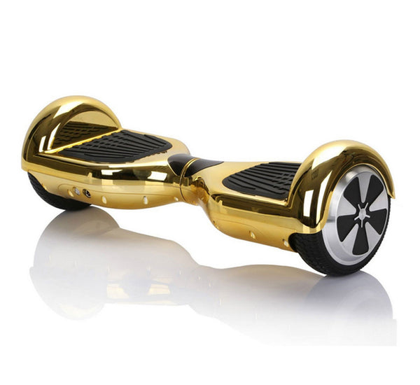 Chrome Hoverboard gold