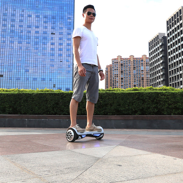 two wheel self balancing scooter