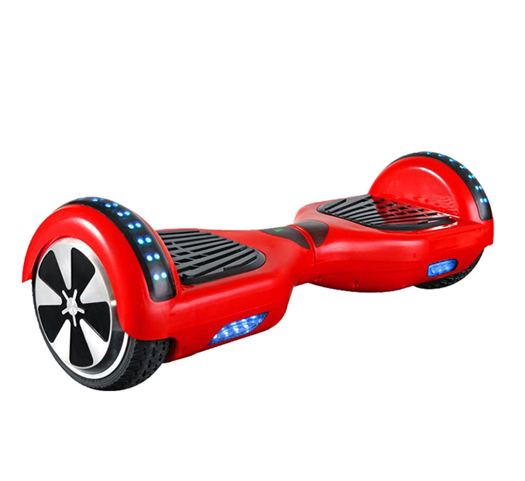 hoverboard with bluetooth and light
