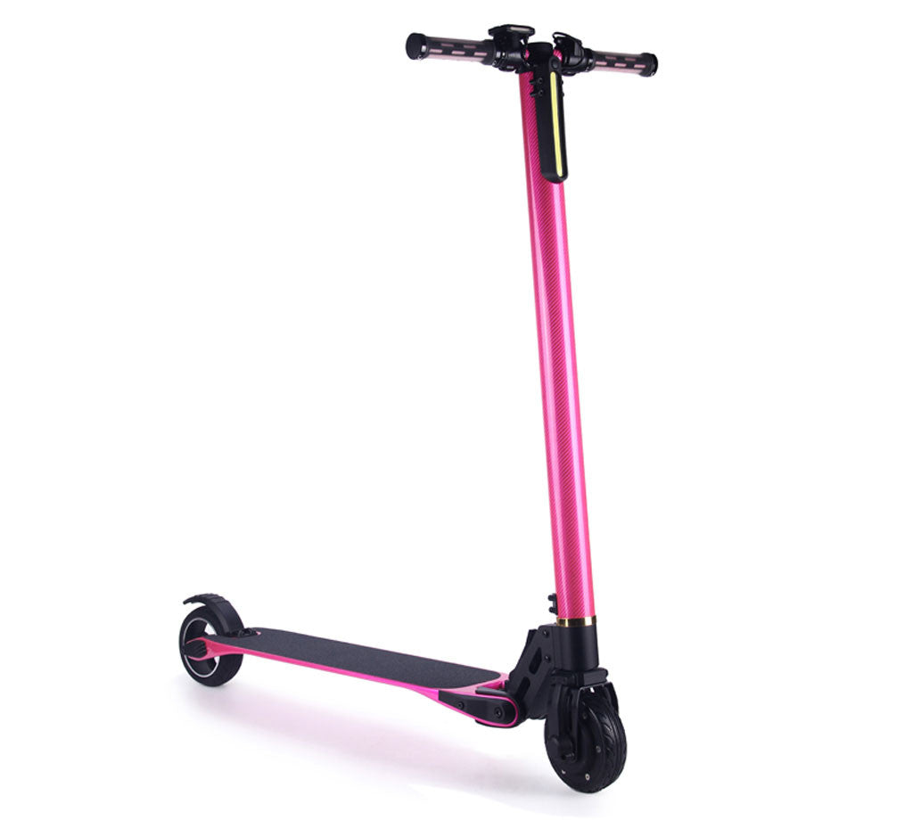 CARBON FIBER ELECTRIC SCOOTER Pink