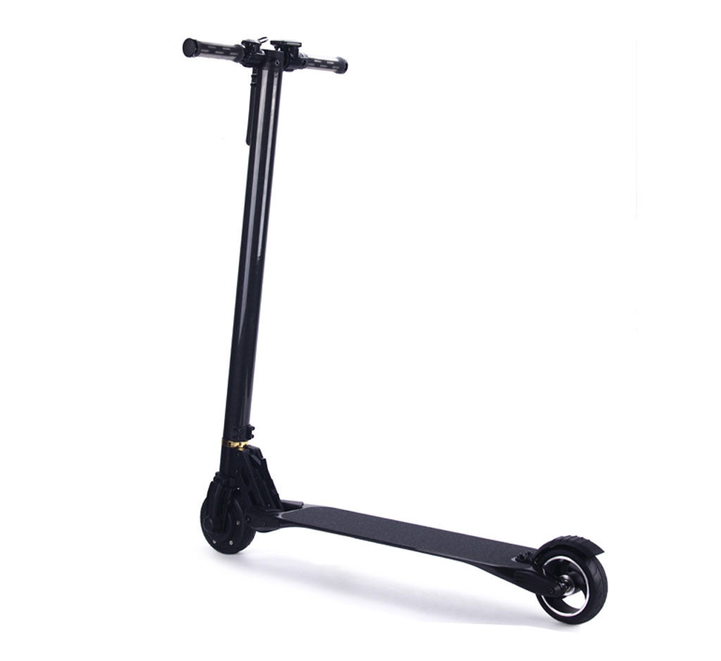 CARBON FIBER ELECTRIC SCOOTER Black