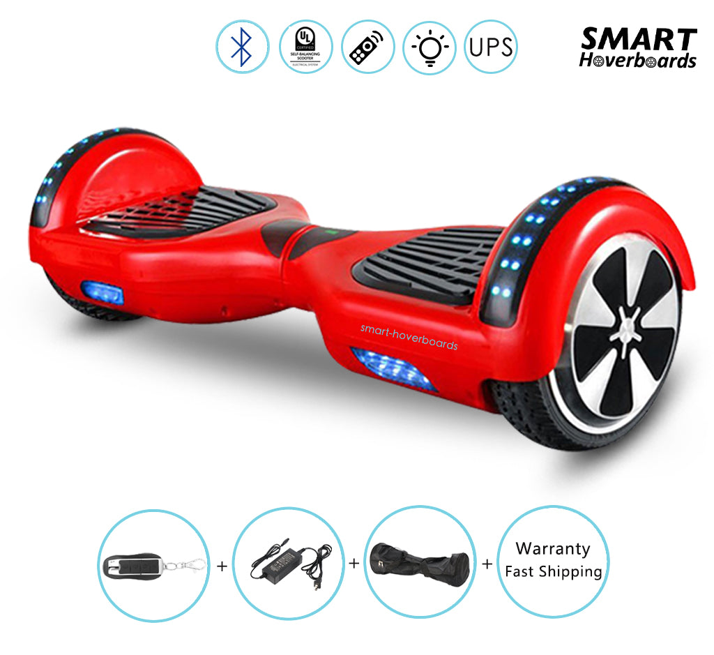 6 5 hoverboard with bluetooth speakers bluetooth remote. Black Bedroom Furniture Sets. Home Design Ideas