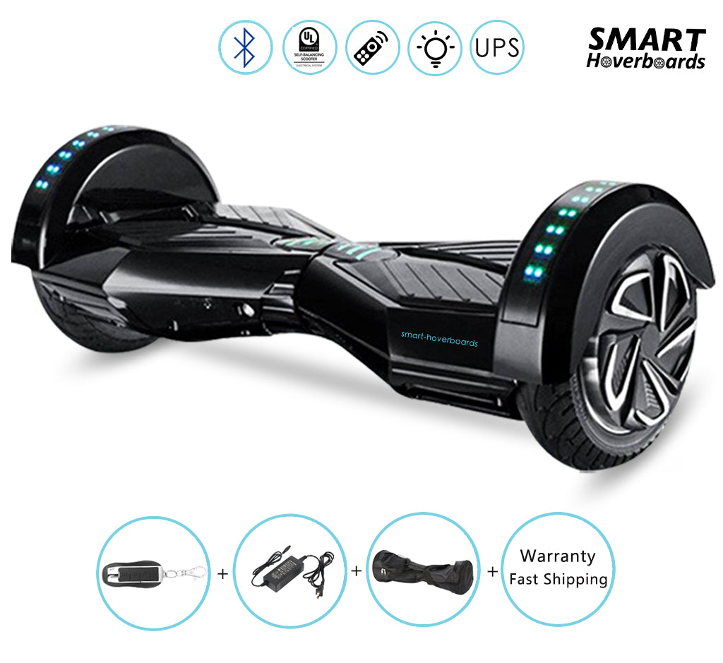 8 Inch Self Balancing Scooter With Bluetooth Speaker And Lights