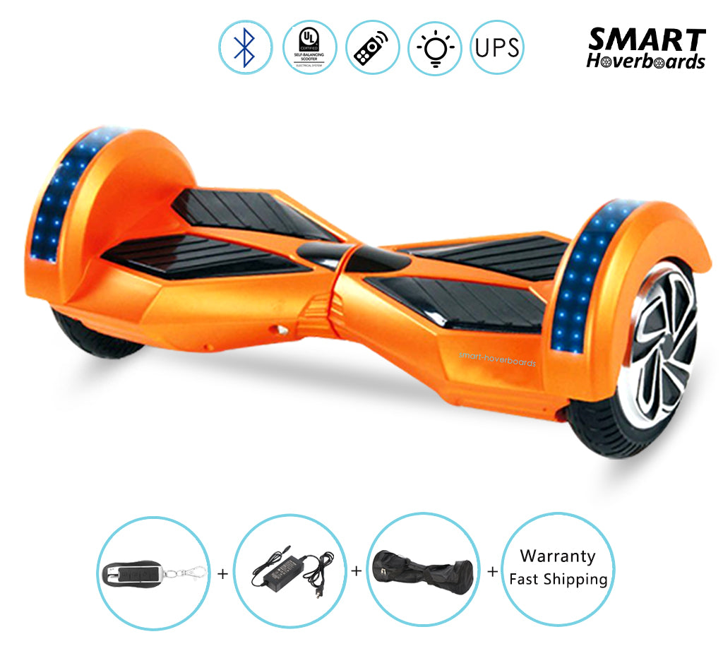 8 Inch Hoverboard Self Balancing Electric Scooter With Powerful Motor Best Mother Board Smart