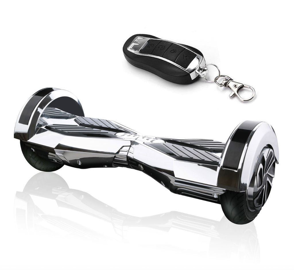 8 Lambo Chrome Pink Hoverboard With Remote Bluetooth Speakers