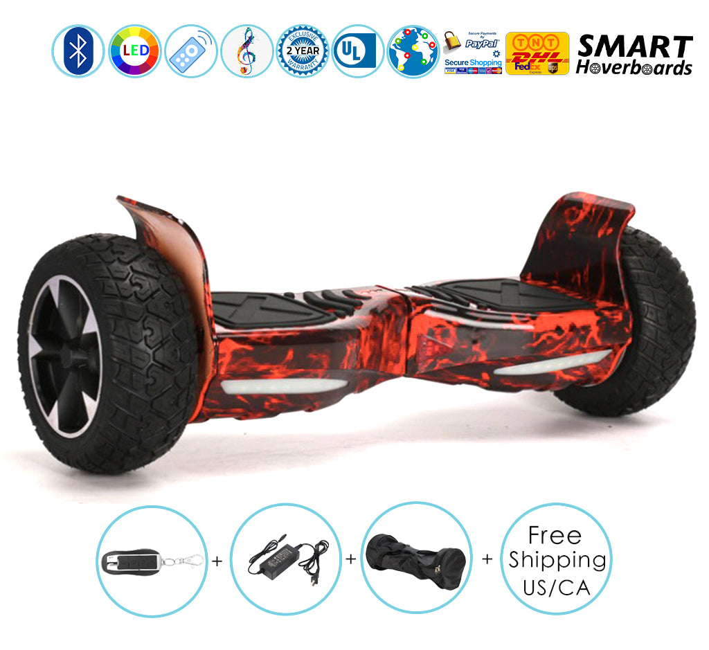 Off Road Hoverboard with Bluetooth Perfect for All Terrain