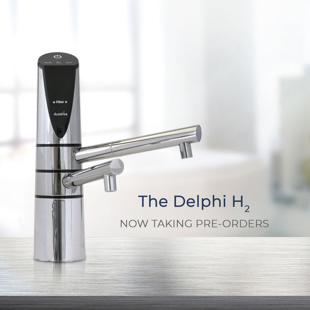 Why You Should Look at the Delphi H2 Undersink Alkaline Water Ionizer
