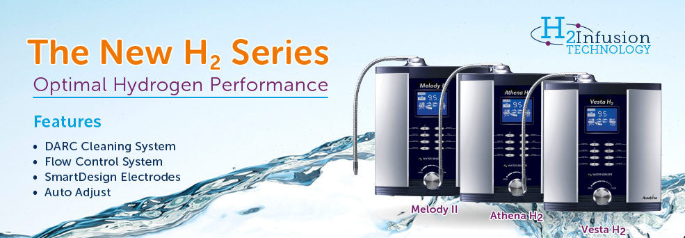The H2 Series of Water Ionizers Has Arrived