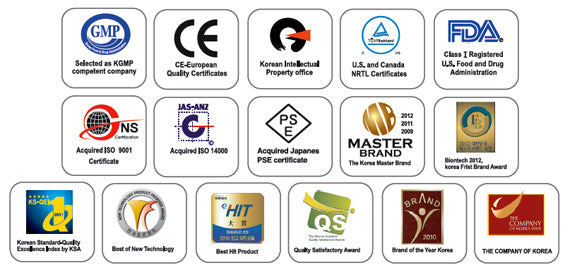 Ionizer Certifications