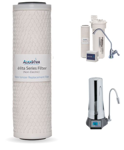 Elita CT-700 and US-700 Series UltraWater™ Alkaline Replacement Filter - AlkaViva Australia