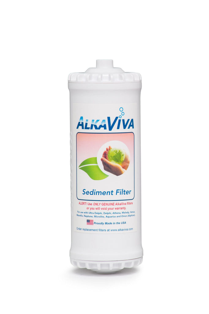 Sediment Replacement Filter - Emco Tech Water Ionizer - AlkaViva Australia