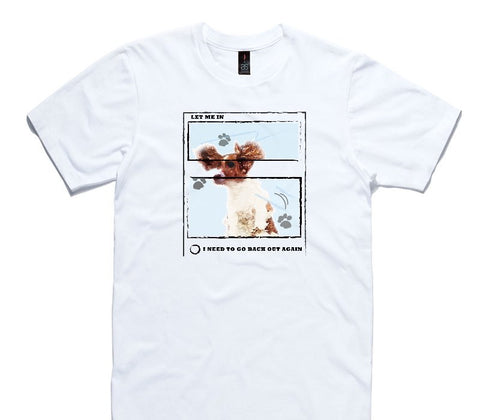 Custom AS Colour 100% Cotton White T-Shirt