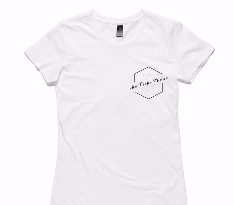 Custom Womens AS Colour 100% Cotton White T-Shirt