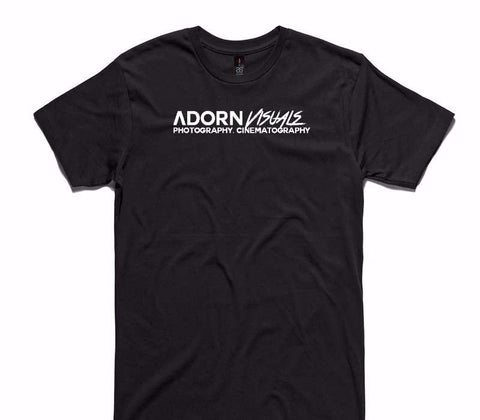 Custom AS Colour 100% Cotton Black T-Shirt