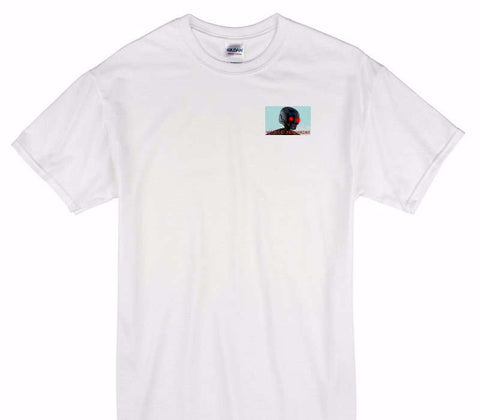 Custom Gildan 100% Cotton White T-Shirt