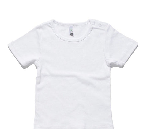 Custom AS Colour White Baby T-Shirt