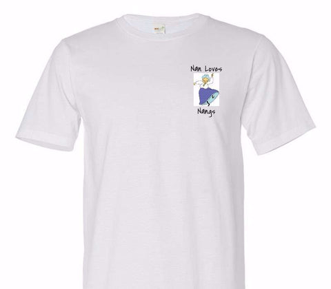 Custom Adult 100% Organic Cotton White T-Shirt