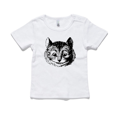 Cheshire Cat 100% Cotton Baby T-Shirt