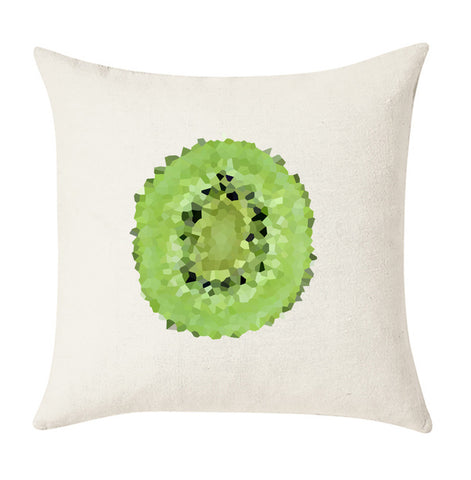 Kiwi Fruit Cushion Cover