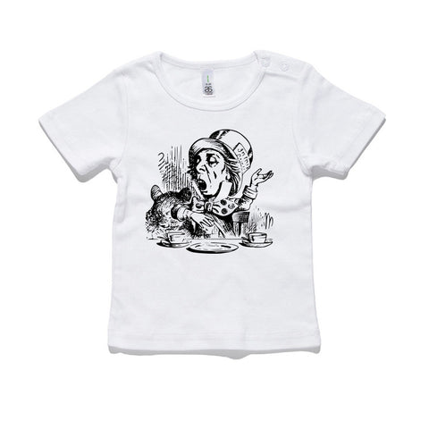 Mad Hatter 100% Cotton Baby T-Shirt