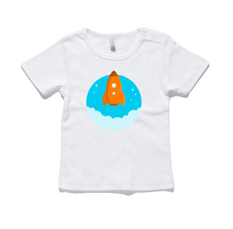 Rocket 100% Cotton Baby T-Shirt