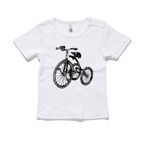 Trike Bike 100% Cotton Baby T-Shirt