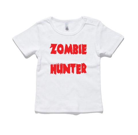Zombie Hunter 100% Cotton Baby T-Shirt