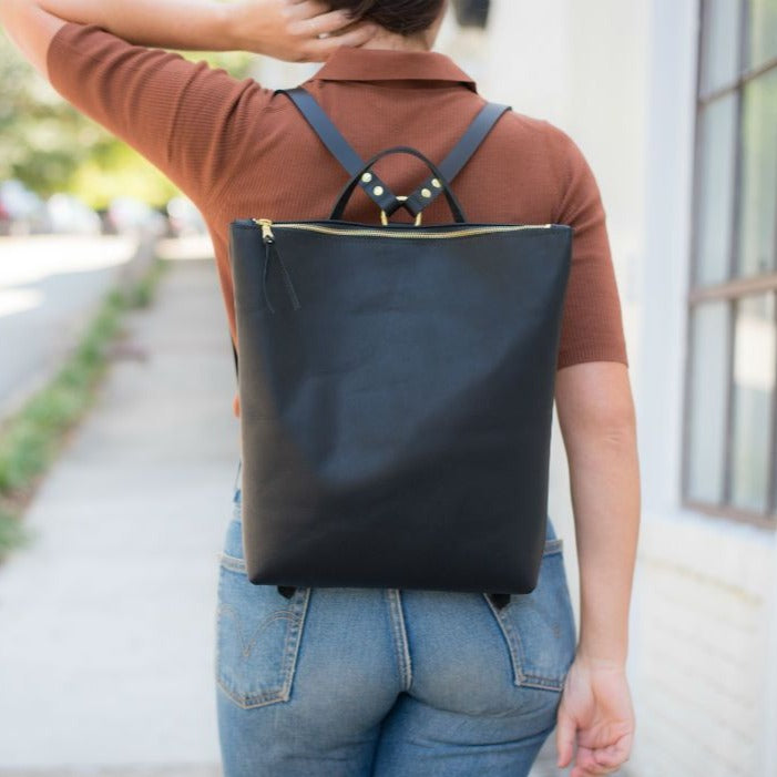 The Nico Zip Top Backpack