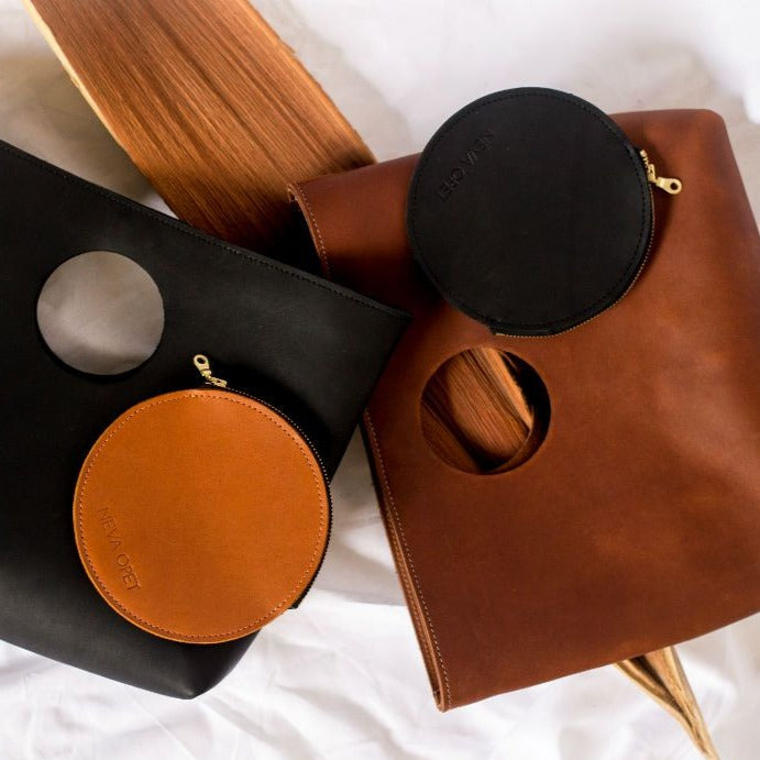 The Audrey Circle Pouch