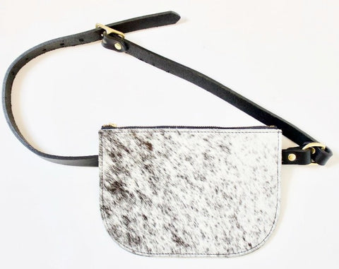 The Marina Bag with Front Pocket // Salt & Pepper