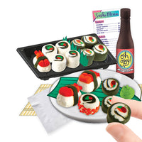 100% Extra Small Mini Clay Kit: Sushi Platter