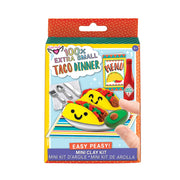100% Extra Small Mini Clay Kit: Taco Dinner