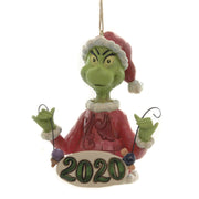 Grinch - Holding String Ornament by Jim Shore