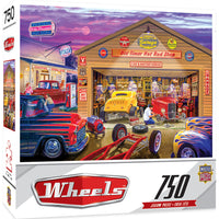 Masterpieces Old Timer's Hot Rods 750 Piece Jigsaw Puzzle