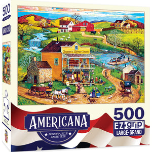 Masterpieces Cooper's Corner 500 Piece Jigsaw Puzzle
