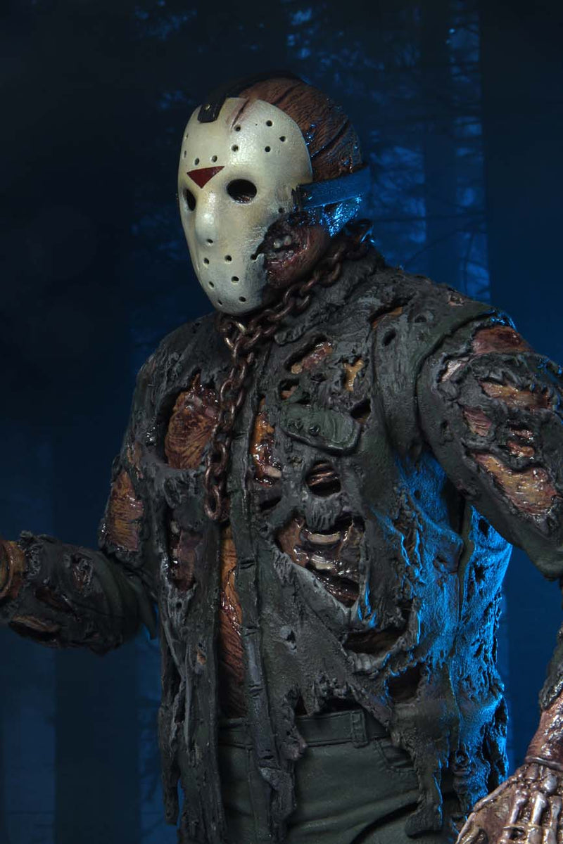NECA  Friday the 20th   Part 20 New Blood Ultimate Jason 20