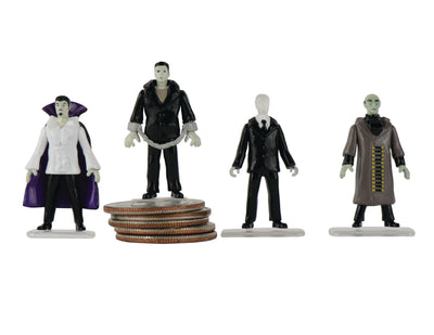 World's Smallest MEGO Horror Set of 4 Micro Action Figures