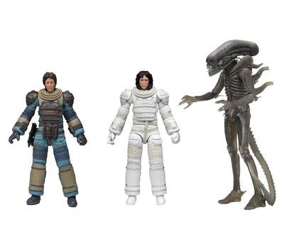 NECA - Aliens - 40TH Anniversary Wave 4 Set of 3 - 7