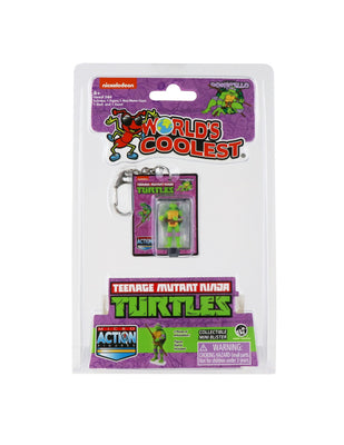 World's Smallest Teenage Mutant Ninja Turtles Donatello Micro Action Figure